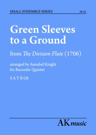 Greensleeves cover