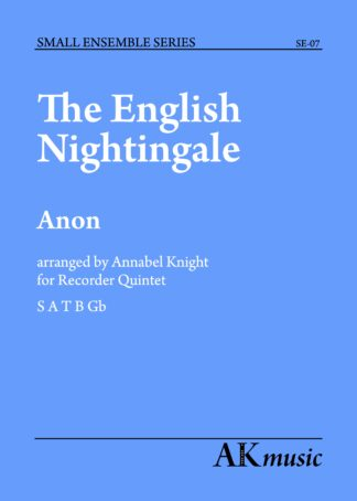 The English Nightingale cover