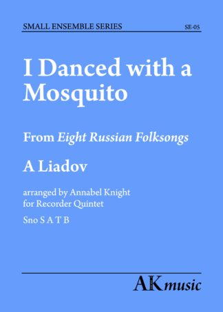 I danced with a Mosquito front cover
