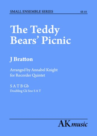 Teddy Bears' Picnic front cover image