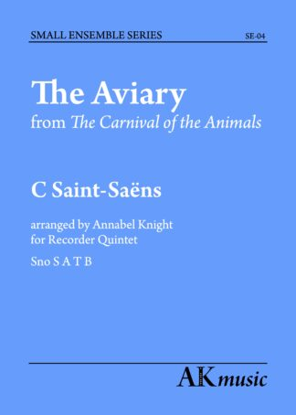 The Aviary front cover
