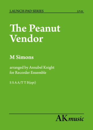 Peanut Vendor Front cover image