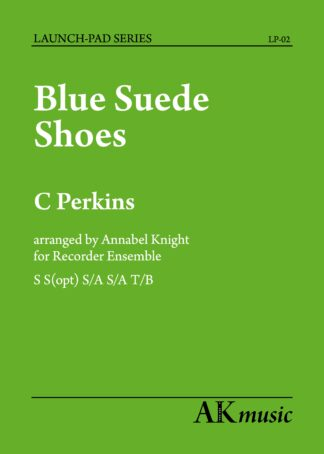 Blue Suede Shoes Cover page