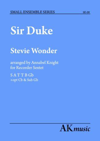 Sir Duke front cover