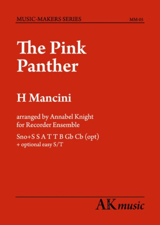 Pink Panther Cover Image