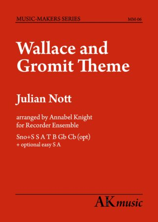 Wallace and Gromit front cover