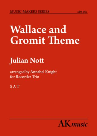 Wallace and Gromit TRIO cover
