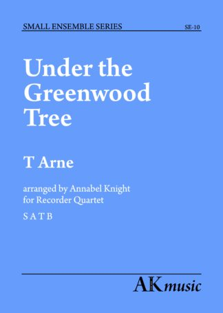 Under the Greenwood Tree blue cover